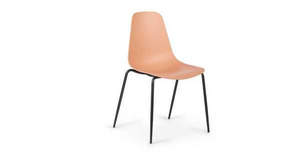 Svelti Grano Laguna Orange Dining Chair - Set of 2 - Article