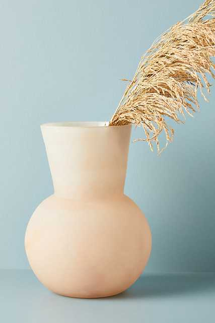 Amabella Vase By Anthropologie in Beige Size L - Anthropologie