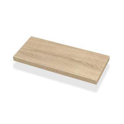 Drumheller Solid Wood Floating Shelf - Wayfair