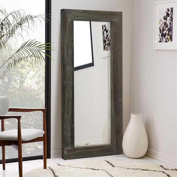 Neu-Type Rustic/Large Rectangular /Full-Length/Floor Mirror, Solid Wood,Living Room - Home Depot