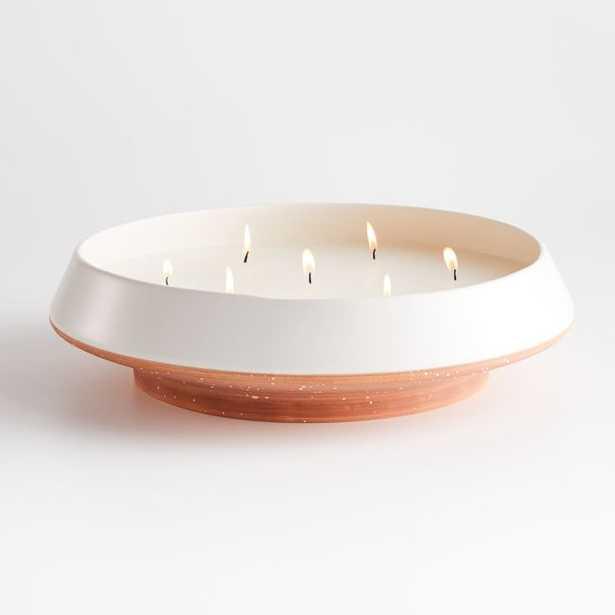 Centoa Citronella Centerpiece Candle - Crate and Barrel
