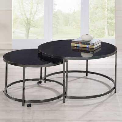 Eastcroft 4 Legs 2 Nesting Tables - Wayfair