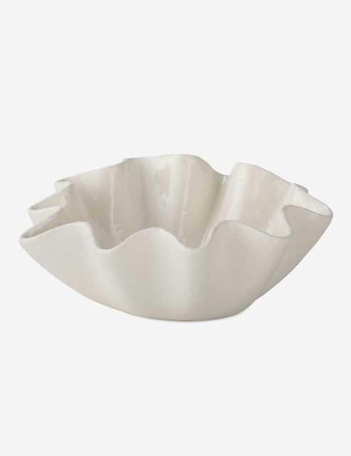 Regina Andrew Ruffle Ceramic Bowl - Lulu and Georgia