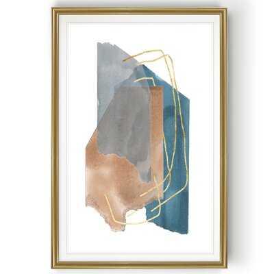 'Matter Dissolving I' - Painting Print on Canvas - Wayfair