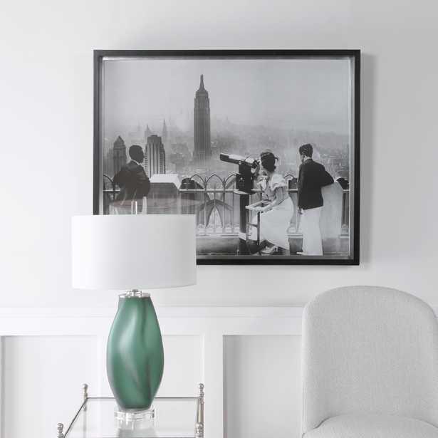 Manhattan View Vintage Print - Hudsonhill Foundry