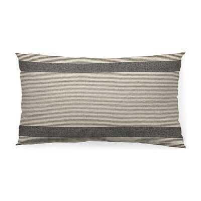 Aspermont Striped Lumbar Pillow Cover - Wayfair