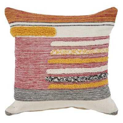 Adler Lined Square Cotton Pillow Cover & Insert - AllModern