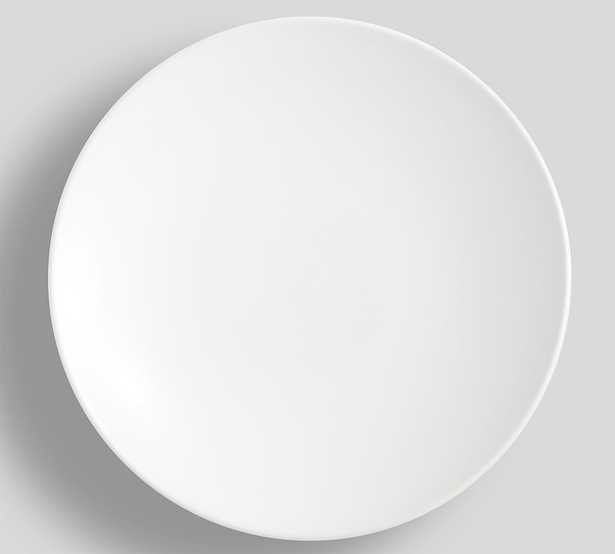 Mason Stoneware Dinner Plates, Set of 4 - True White - Pottery Barn