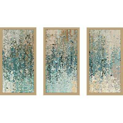'Romans 8 39 Max' 3 Piece Framed Graphic Art Print Set - Wayfair