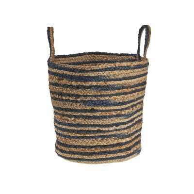 Dyed Jute Basket - Wayfair
