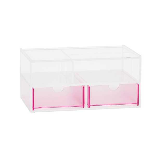 Pink Acrylic Jewelry Box, Large - Pottery Barn Teen
