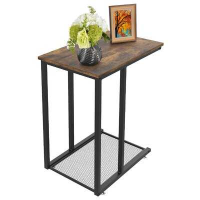 Frame End Table with Storage - Wayfair