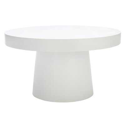 Chumley Pedestal Coffee Table - Terrazzo - Wayfair