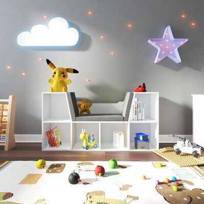 "Louisiana Isabelle & Max 26"" H X 50"" W Kids Reading Nook - Wayfair"