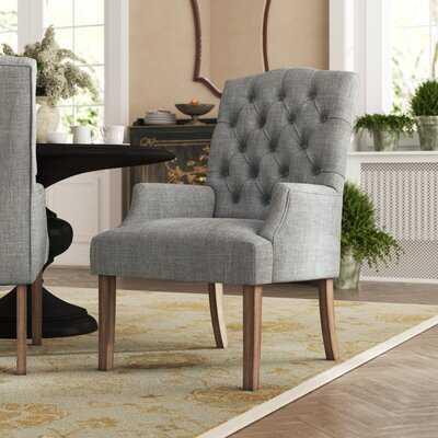Lila Tufted Upholstered Arm Chair - Wayfair