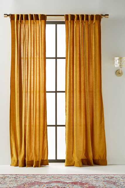Chenille Curtains, Set of 2 - Anthropologie