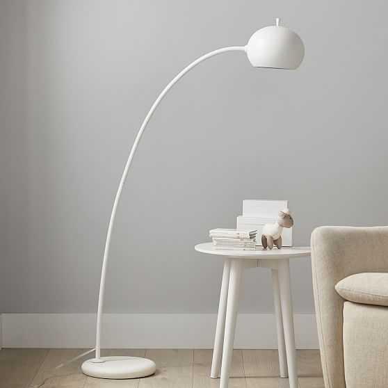 Petite Arc Metal Floor Lamp - West Elm