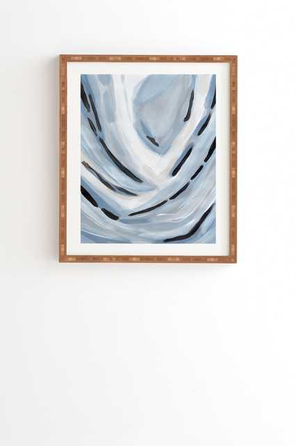 "Laura Fedorowicz Rising Framed Wall Art - 19"" x 22.4"" - Wander Print Co."