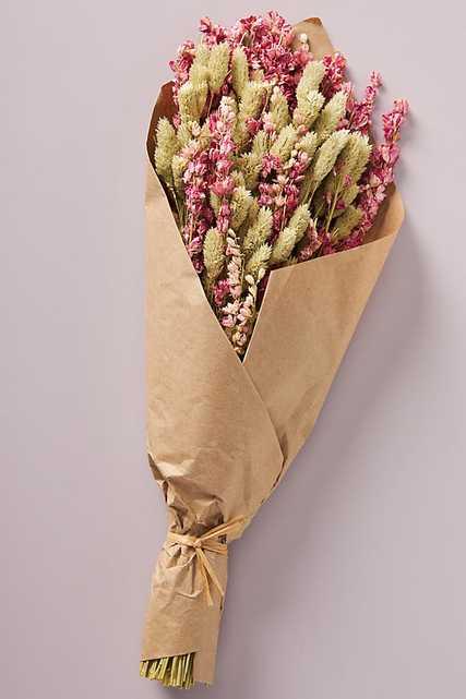 Dried Valentina Bouquet By Anthropologie in Pink - Anthropologie