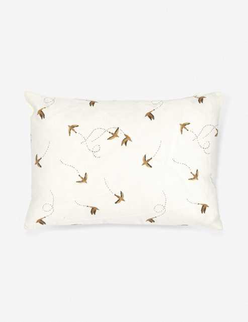 Rylee + Cru Sparrow Lumbar Pillow - Lulu and Georgia