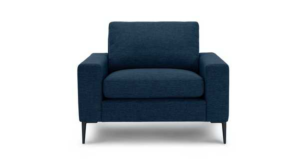 Nova Twilight Blue Armchair - Article