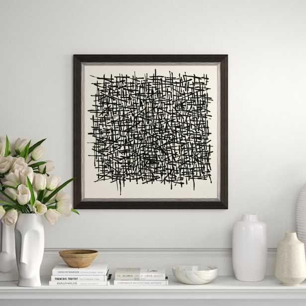 Soicher Marin 'Straw' Framed Graphic Art Print - Perigold