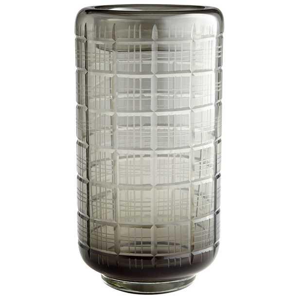 Off The Grid Vase, Large - Onyx Rowe