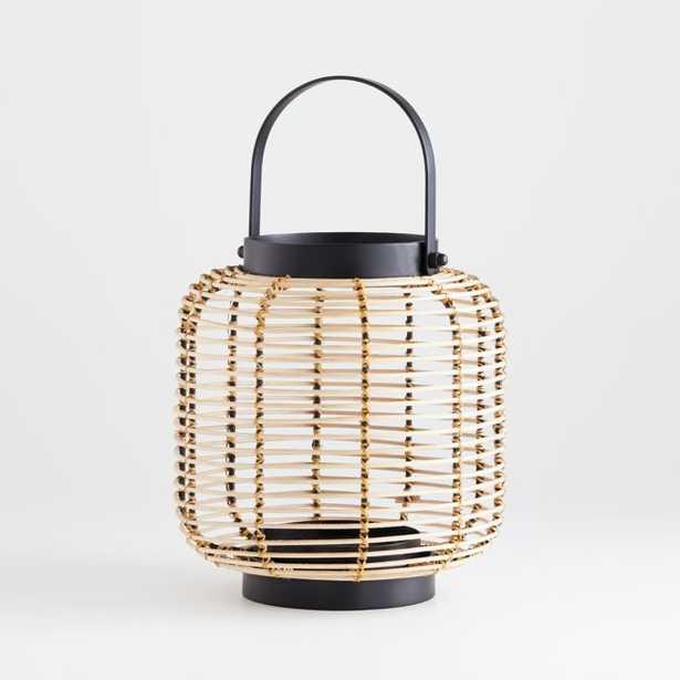 Brigton Small Rattan Lantern - Crate and Barrel