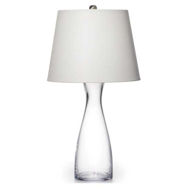 Simon Pearce Barre Modern Classic Glass Table Lamp - Kathy Kuo Home