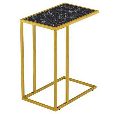 Rectangle Side End Accent C Table Gold - Wayfair