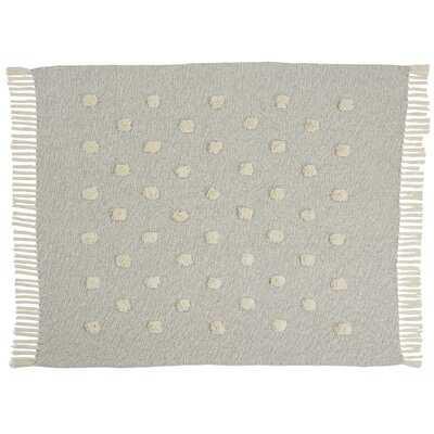 Trisler Textured Dots Cotton Throw - AllModern