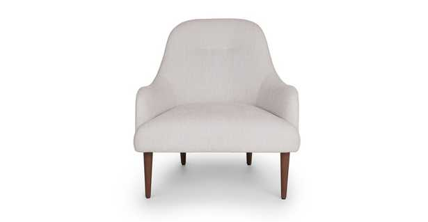 Embrace Coconut White Chair - Article