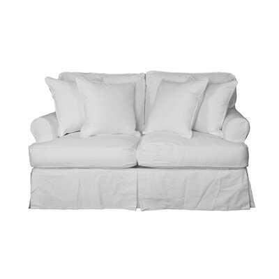 Rundle T-Cushion Sofa Slipcover - Birch Lane