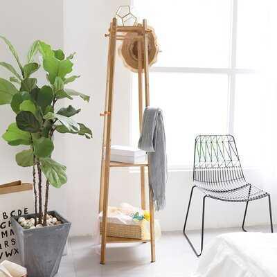 Bamboo Coat Rack Garment Stand - Wayfair