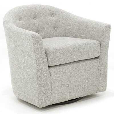 Aryion Swivel Barrel Chair - Wayfair