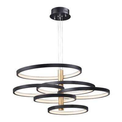 Addysn 6-Light LED Geometric Pendant - Wayfair