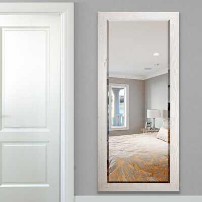 Zandra Farmhouse Beveled Distressed Full Length Mirror - Wayfair