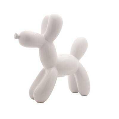 "Zoomie Kids Plus Lime Mini Balloon Dog Bank 7.5"" Tall - Wayfair"