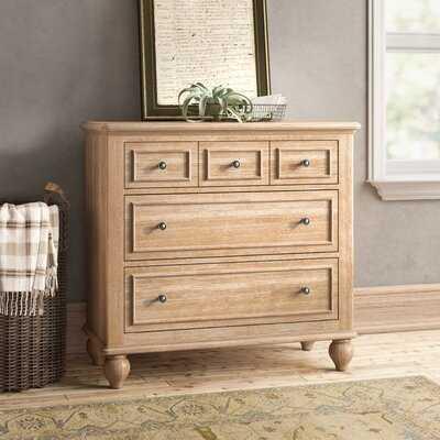 William 3 Drawer Standard Dresser - Birch Lane