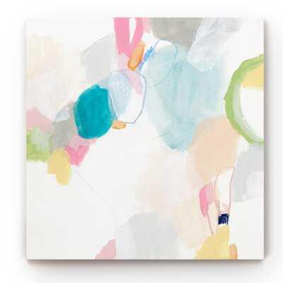 'Candy Jacket IV' - Painting Print on Canvas - Wayfair
