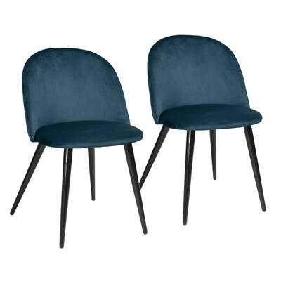 Fairview Velvet Side Chair - Wayfair