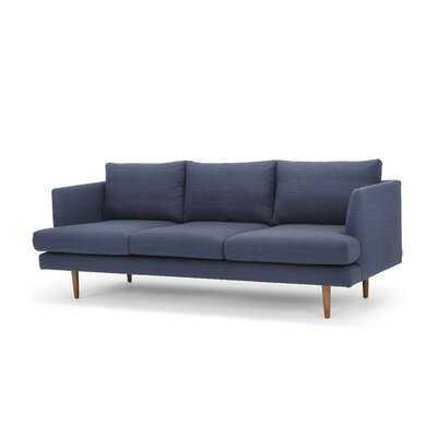 "84"" Recessed Arm Sofa - Wayfair"