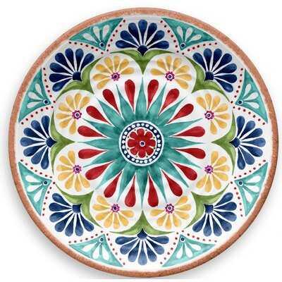 """Leister 10.5"""" Melamine Dinner Plate (Set of 6) - Birch Lane"""