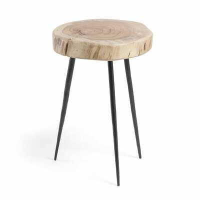 Adalynn Solid Wood 3 Legs End Table - Wayfair