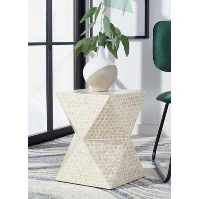 Almerton Pedestal End Table - Wayfair