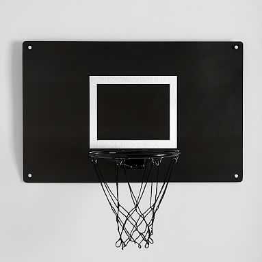 Wall Mounted Metal Basketball Hoop - Pottery Barn Teen