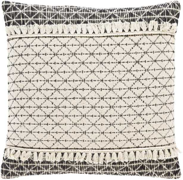 """Justine - JTI-001 - 20"""" x 20"""" - pillow cover only - Neva Home"""