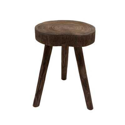 Solid Wood 3 Legs End Table - Wayfair