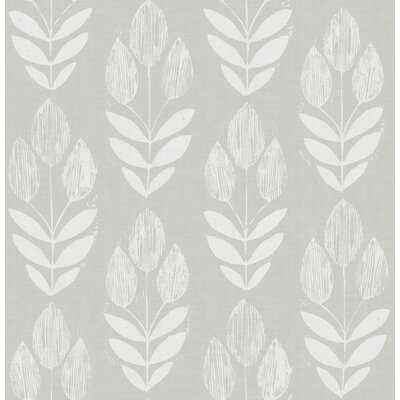 "Garland 33' L x 20.5"" W Smooth Wallpaper Roll - Birch Lane"