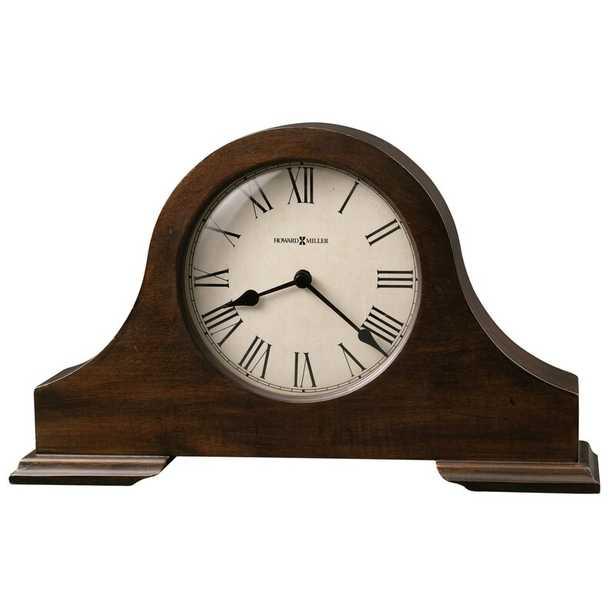 Howard Miller® Humphrey Mantel Clock in Hampton Cherry - Perigold